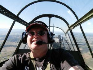 Flying home in the TBM Avenger