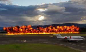 Wall of Fire at WOI 2019